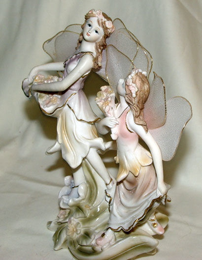 Image de Angels with flowers