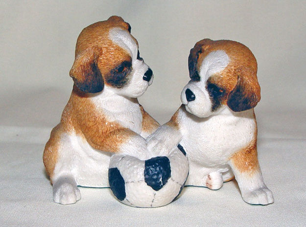 Image de Boxers with football ball
