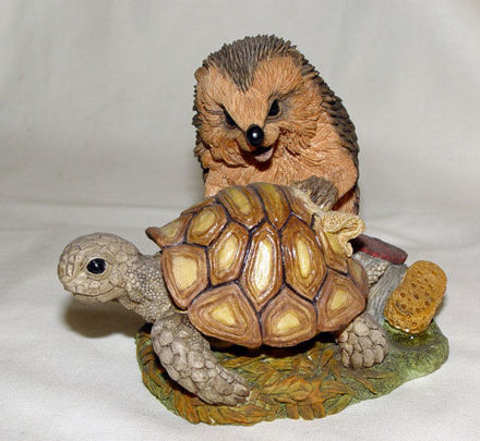 Image de Hedgehog with Turtle