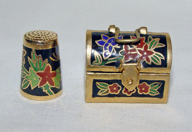 Image de Thimble flowers with case