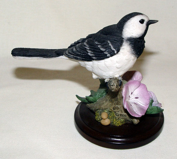Image de Wagtail with Geraniums